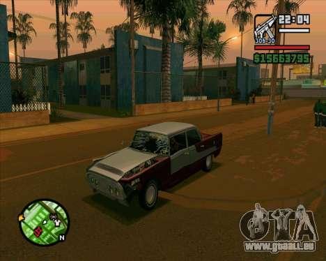 Oceanic HD für GTA San Andreas rechten Ansicht
