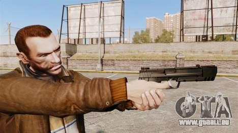 Ladewagen Pistole H & K USP v1 für GTA 4