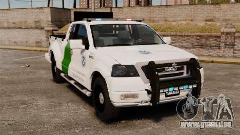 Ford F-150 v3.3 Border Patrol [ELS & EPM] v2 pour GTA 4