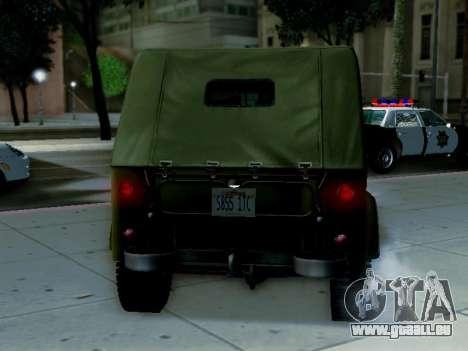 UAZ-69A für GTA San Andreas