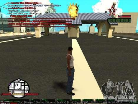 Sobeit 4.2.2.1 (2011) [RUS] pour GTA San Andreas deuxième écran