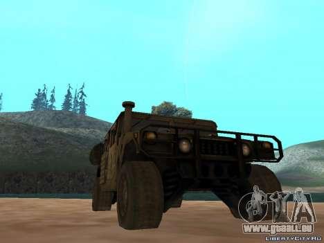 Hamvee M-1025 de Battlefiled 2 pour GTA San Andreas