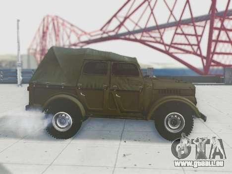UAZ-69A für GTA San Andreas obere Ansicht