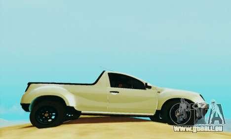 Dacia Duster Pick-up für GTA San Andreas rechten Ansicht