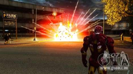 Iron Man IV v 2.0 pour GTA 4 sixième écran