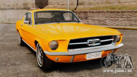 Ford Mustang 1967 Classic pour GTA 4