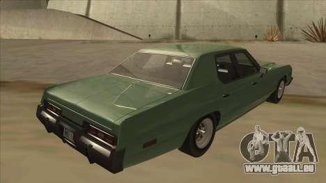 Dodge Monaco V10 für GTA San Andreas rechten Ansicht