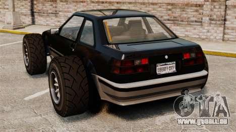 Futo-buggy für GTA 4 hinten links Ansicht