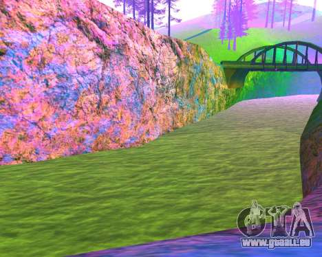 NarcomaniX Colormode pour GTA San Andreas quatrième écran