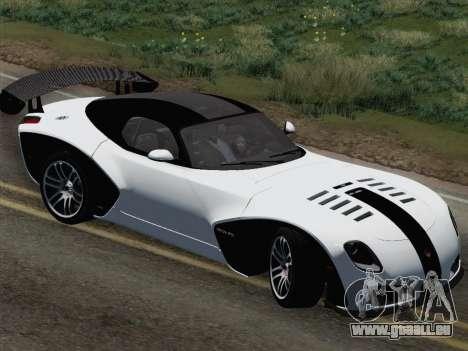 Devon GTX 2010 für GTA San Andreas Unteransicht