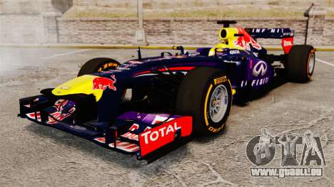Auto, Red Bull RB9 v2 für GTA 4