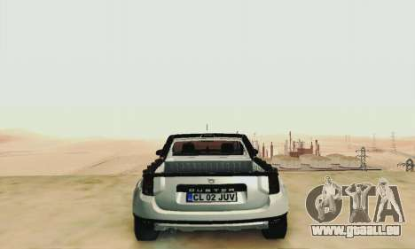 Dacia Duster Pick-up für GTA San Andreas Innenansicht