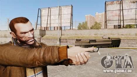 Chargement automatique pistolet USP H & K v2 pour GTA 4