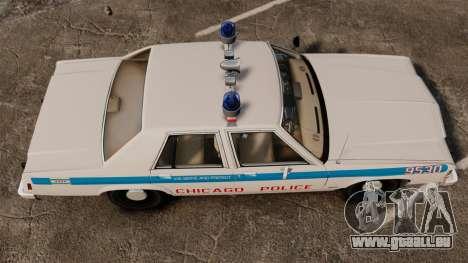 Ford LTD Crown Victoria 1987 [ELS] pour GTA 4 est un droit