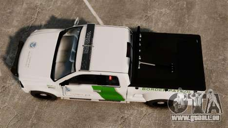 Ford F-150 v3.3 Border Patrol [ELS & EPM] v2 pour GTA 4 est un droit