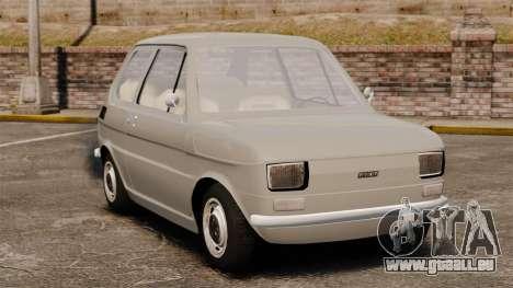 Fiat 126 v1.1 pour GTA 4