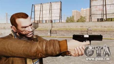 Glock 17 Ladewagen Pistol v2 für GTA 4