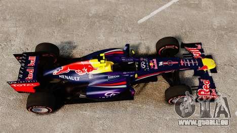 Rb9 v6 Auto, Red Bull für GTA 4 rechte Ansicht