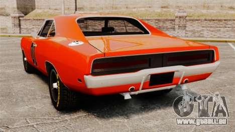 Dodge Charger General Lee 1969 pour GTA 4 est un droit