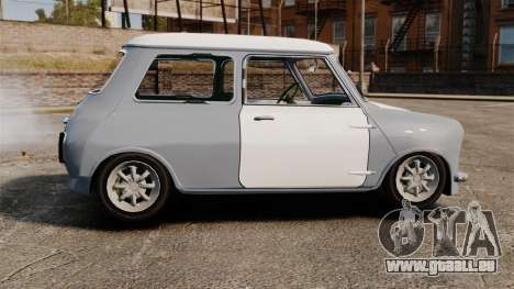 Mini Cooper S 1968 pour GTA 4 est une gauche