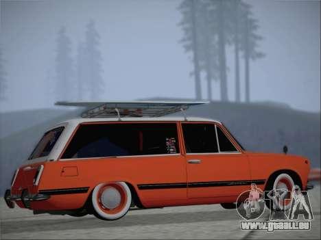 VAZ 2102 pour GTA San Andreas vue intérieure