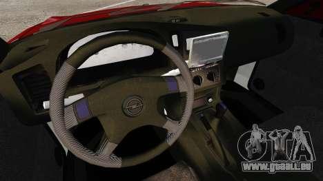 Opel Astra GSi 1993 für GTA 4 Innenansicht