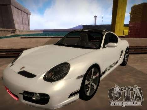 Porsche Cayman R 2007 für GTA San Andreas