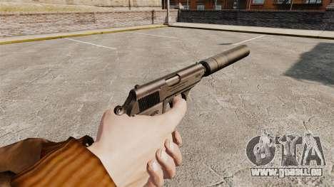 Chargement automatique v1 de pistolet Walther PP pour GTA 4 secondes d'écran