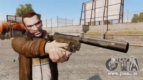 Walther P99 pistolet semi-automatique v3 pour GTA 4 troisième écran