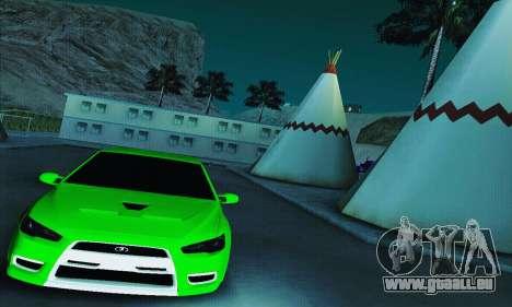 VAZ 2108 Lancer für GTA San Andreas rechten Ansicht