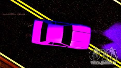 Elegy Drift Silvia für GTA San Andreas Rückansicht