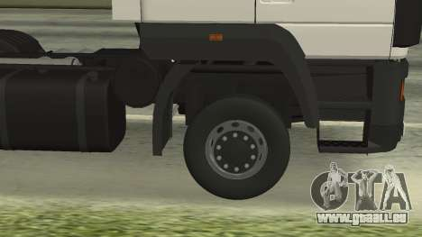 MAZ 5440 für GTA San Andreas Seitenansicht