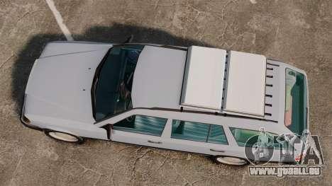 Mercedes-Benz W124 Wagon (S124) pour GTA 4 est un droit