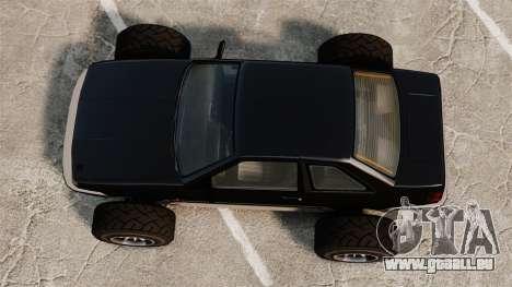 Futo-buggy für GTA 4 rechte Ansicht