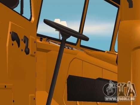 Camion gaz-66 pour GTA San Andreas vue de droite
