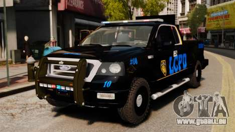 Ford F-150 v3.3 LCPD Auxiliary [ELS & EPM] v2 pour GTA 4