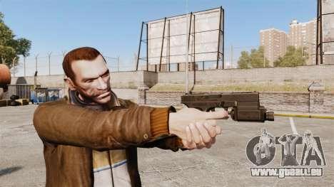 Taktische Pistole Glock 18 v1 für GTA 4