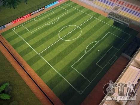 Terrain de soccer pour GTA San Andreas quatrième écran