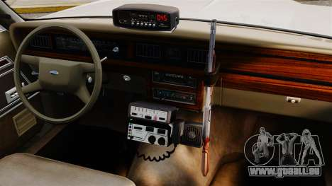 Ford LTD Crown Victoria 1987 [ELS] für GTA 4 Innenansicht