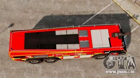 Camion Hydramax AERV v2.4-EX Manchester für GTA 4 Rückansicht