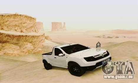 Dacia Duster Pick-up pour GTA San Andreas