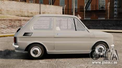 Fiat 126 v1.1 pour GTA 4 est une gauche