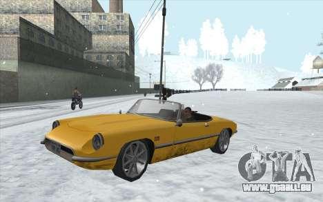 Snow San Andreas 2011 HQ - SA:MP 1.1 für GTA San Andreas siebten Screenshot