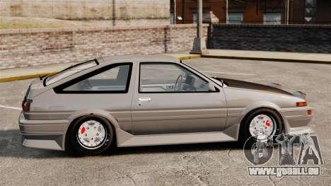 Toyota Corolla GT-S AE86 Trueno pour GTA 4 est une gauche