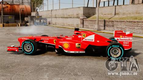 Ferrari F138 2013 v1 für GTA 4 linke Ansicht