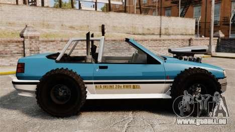 Jeep Futo Final pour GTA 4 est une gauche