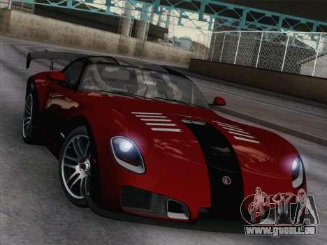 Devon GTX 2010 für GTA San Andreas Innenansicht