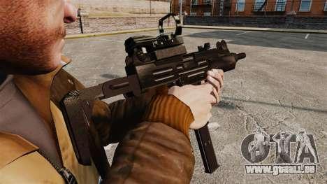 Taktische Uzi-v4 für GTA 4 Sekunden Bildschirm