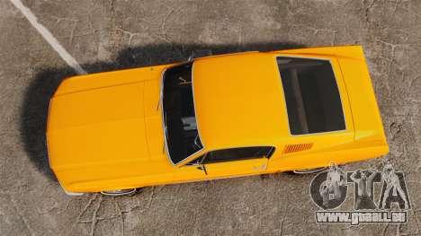 Ford Mustang 1967 Classic für GTA 4 rechte Ansicht