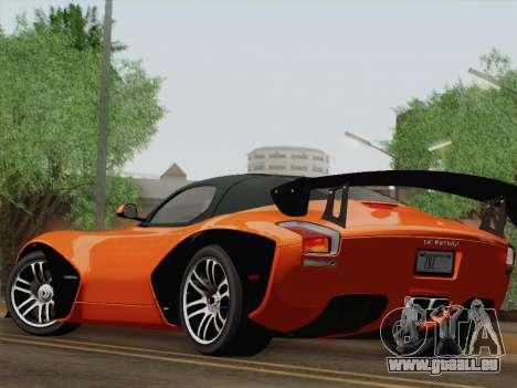 Devon GTX 2010 für GTA San Andreas Seitenansicht